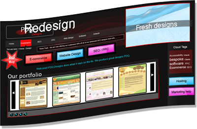 Website redesign Swansea, Cardiff & Wales